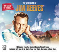 Jim Reeves : The Very Best of Jim Reeves CD 2 discs (2012) ***NEW*** Great Value