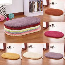 Carpet Oval Plush Fluffy Area Rug Bedroom Living Room Floor Mat 40x60 - 80x200cm