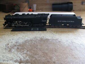Rivarossi HO Train New York Central 4-6-4 Powered Steam Locomotive & Tender