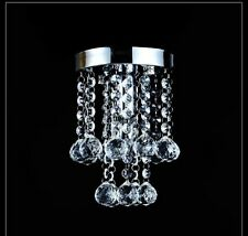 Free Shipping Clear Small Crystal Chandelier Lustre Light Porch Lamp Pendant