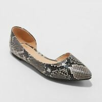 Women's Mohana D'orsay Pointed Toe Ballet Flat - A New Day - Choose Size & Color