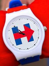 Hillary Clinton Logo Watch