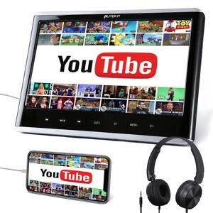 """12"""" Zoll Tragbarer DVD Player Auto Monitor Kopfstützen HDMI-in USB SD für Kinder"""