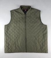 Duluth Trading Co. Mens Grey Zipper Winter Vest - Size XLGT