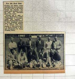 1949 Worthing And District Cricket Association Team Photo