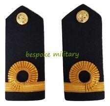 Royal Navy S. Lt Sub Lieutenant Rank Insignia Shoulder Strap Board Epaulette NEW