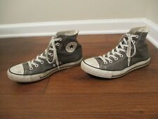 Used Size 9 Fit Like 9.5 - 10 Converse Chuck Taylor All Star Hi Shoes Gray