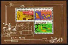 Surinam / Suriname 1978 Airplane rice flugzeuge avion rice reis riz S/S MNH