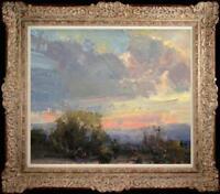 """Original Oil Painting art Impressionism seascape Landscape on canvas 20""""x24"""""""