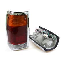 85-1998 MAZDA B-Series B2200 B2500 B2600 LH RH TAIL LIGHTS LAMP WITH CHROME EDGE