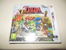 The Legend Of Zelda Tri Force Heroes **NEW SEALED** 3DS