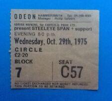 Steeleye Span Original Used Concert Ticket Hammersmith Odeon London 1975