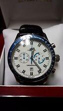Adee Kaye Men's Chronograph Steel Watch AK1089-M