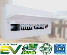BG 16 Way Dual RCD Metal Consumer Unit & 12 MCB Amendment 3 Compliant CFUDP16616