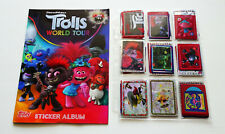 Topps Trolls World Tour Empty album & Complete Set