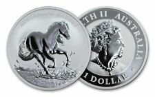 2020 Australian Brumby 1oz Silver Bullion Coin Perth Mint