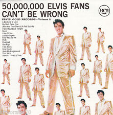 ELVIS PRESLEY 50,000,000 Elvis Fans Can't Be Wrong CD Disctronics 14 tracks