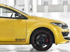 2 x Renault Sport Stickers for Doors Scenic, Megane RS, Clio, decals, emblem #22