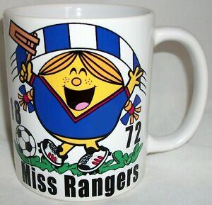 Miss Rangers Coffee Tea Mug Football Shirt Scotland Mothers Day Girlfriend Gift