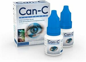 Can-C Eye Drops 5 Milliliter Liquid (2 in 1Pack) Expires 09/2021