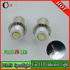 1x P13.5S PR2 PR3 PR4 1W Torch spot indicator led light White 150LM 6000K 3V-17V