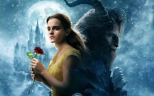 "013 Beauty and the Beast - Disney Emma Watson 2017 USA Moive 38""x24"" Poster"