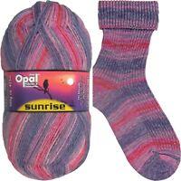 Opal Sunrise Vogelgezwitscher Sockenwolle Strumpfwolle 4fach 100g