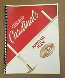 CHICAGO CARDINALS FOOTBALL MEDIA GUIDE - 1939 - Exact Reproduction - 2nd GUIDE