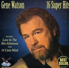 Gene Watson - 16 Super Hits [New CD]