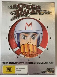 Speed Racer  - The Complete Series (DVD) Australia Region 4- NEW SEALED RARE
