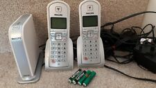 Philips VOIP 321 Skype / IP / Landline / Phone 2 Hand Sets