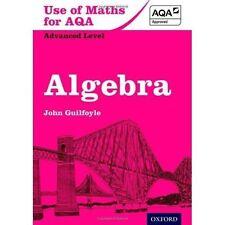 Use of Maths for AQA Algebra by John Guilfoyle (Paperback, 2013)