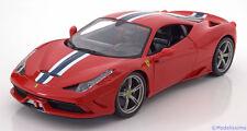 1:18 Bburago Ferrari 458 Speciale 2014 red