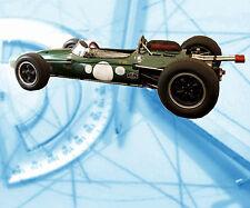 Automoile  Drawing Scale 1/12 1/16 1/24 1/32 1963 F.1 Brabham Digital plan on CD