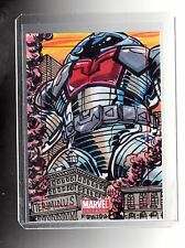 2014 Marvel Universe  sketch card by Frankie B Washington