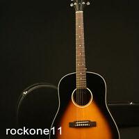 New Arrivals GJ45 Acoustic Guitar Solid Spruce Top Vintage Sunburst Grover Tuner
