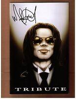 Michael Jackson # 1  (VF) Blue Water Comics Vol. 1 Oct 2009 Cover B