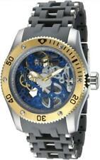 Invicta 80127 Sea Spider Mechanical Skeleton Grey Polyurethane Mens Watch