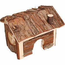 Small Animal Hamster Boredom Breaker Forest Cabin Bed16x13 x12cm