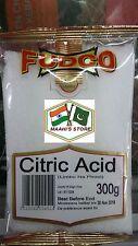 Acide Citrique 300 g-Fudco-Qualité Premium