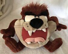 "Tasmanian Devil Stuffed Animal Looney Tunes Taz Ace Play-By-Play Talks Shakes 8"""