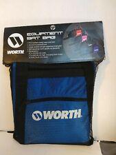 Worth Equipment Bat Bag Baseball Softball Blue Black