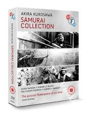 Akira Kurosawa Samurai Collection 5 Films NEW Arthouse Blu-Ray 4-Disc Set Japan