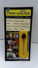 Trim gauge-Multi Purpose tool for constant measuring- spirit level incorporated