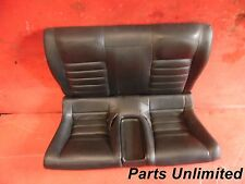 97-01 Honda Prelude OEM rear seats STOCK factory Type SH black leather ***