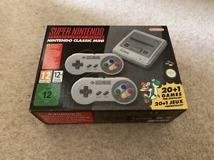 Super Nintendo Classic Mini New
