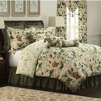 Williamsburg Garden Images 4-piece Comforter Set Green King