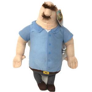 """Tim Lockwood Flint's Dad Plush Cloudy With A Chance Of Meatballs 2 New 13"""""""