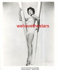 Vintage Marla English GORGEOUS SEXY LEGS SWIMSUIT '54 PINUP Publicity Portrait