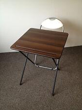 Plegable examen Class Room Café Comedor Camping Laptop estudio Bistro Mesa Y Silla